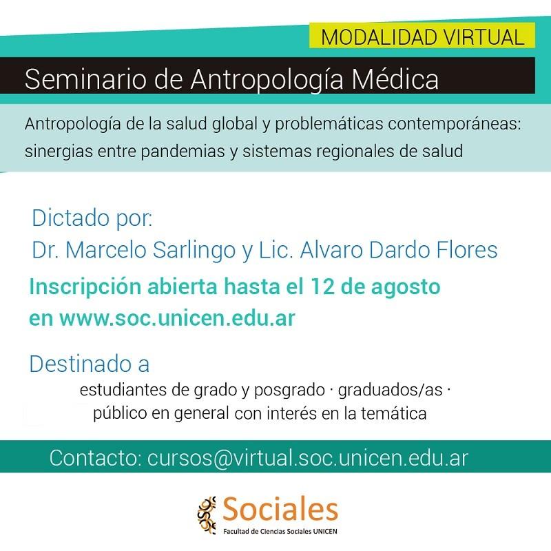 Seminario de Antropología Médica en la FACSO