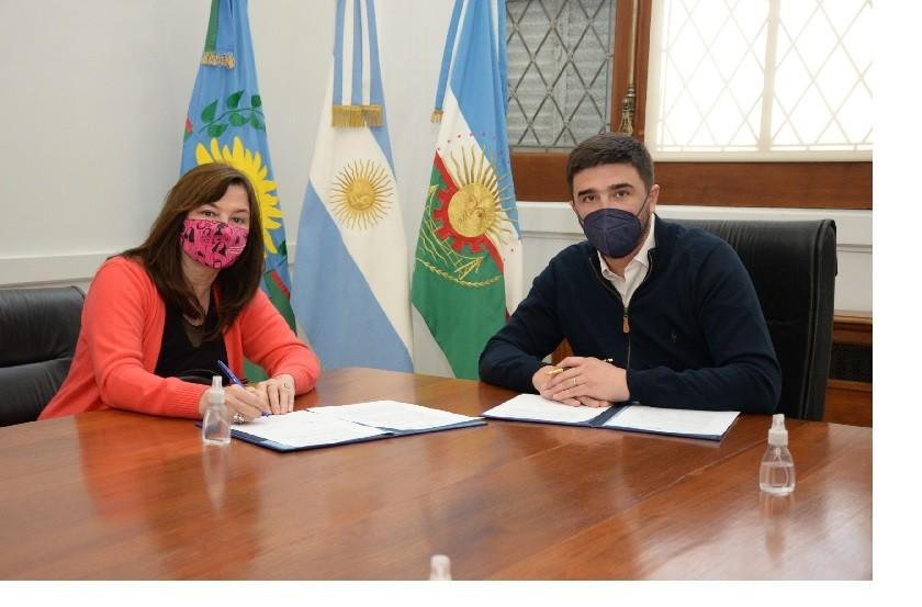 Acciones coordinadas entre el Municipio y el Ministerio en materia de género