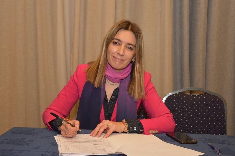 Danya Tavela en Olavarría