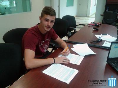 Barbieri firmó contrato con Atlas de México