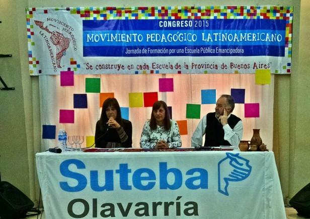SUTEBA debate en Olavarría el futuro de la educación