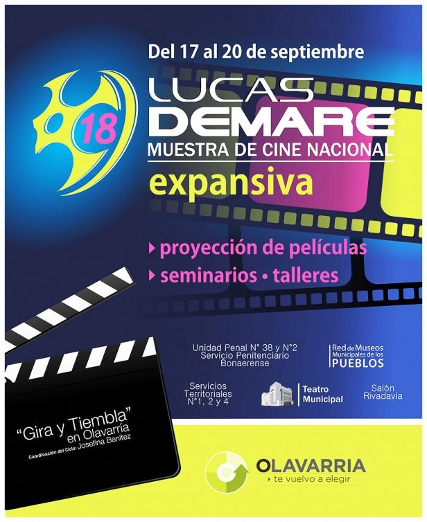 """Se anunció la 18° Muestra de Cine Nacional """"Lucas Demare"""""""