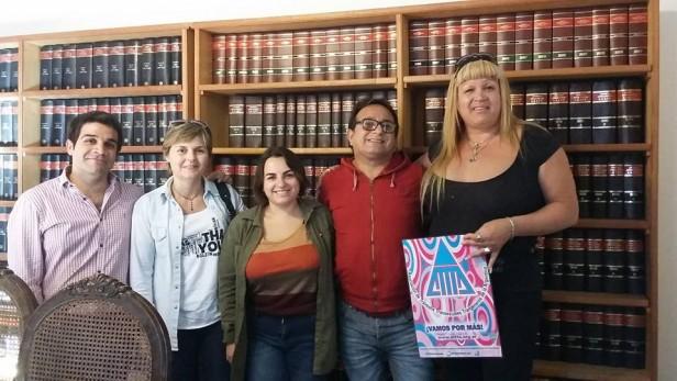 Chesida se reunió con representantes de la Facultad de Derecho