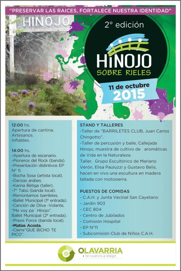"""Llega la 2º edición de """"Hinojo sobre rieles"""""""
