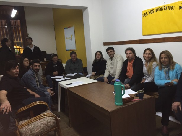 Reivindicando a Alfieri, Portarrieu y Eseverri, se reunieron el PRO y la UCR Olavarría