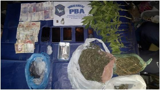 Secuestran marihuana tras una denuncia al 0800 Droga NO
