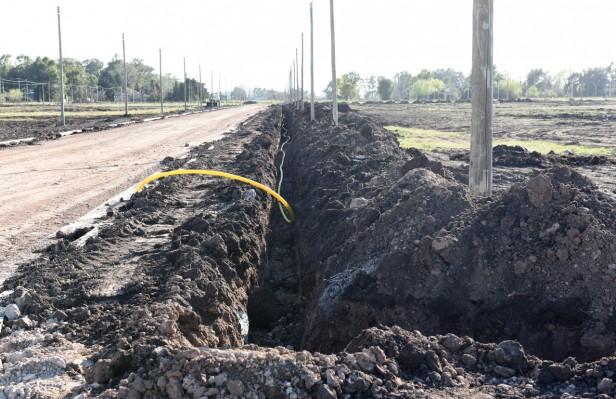 ProCreAr: Avanzan las obras de infraestructura en los terrenos del Pikelado