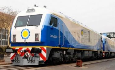 El tren chino con su primer viaje a Olavarría