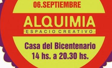 Feria Alquimia en la Casa del Bicentenario
