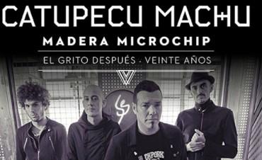 """Catupecu Machu llega al Teatro Municipal con """"Madera Microchip"""""""