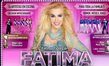 Fátima Flórez llega a Olavarría