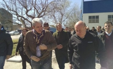 El Jefe de Gabinete y Candidato a Gobernador Aníbal Fernández estuvo en Olavarría