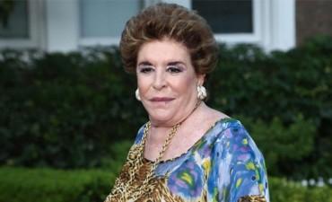 Falleció Inés Lafuente, hija de Amalita Fortabat