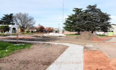 Se instalarán juegos saludables en Plaza España