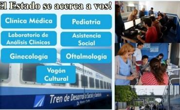 Llega este lunes el Tren de Desarrollo Social y Sanitario a Olavarría