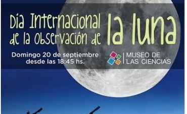Observación de la Luna este domingo en el Museo de las Ciencias