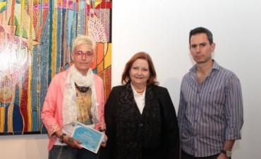 Florencia Clérici es la ganadora del salón de pintura