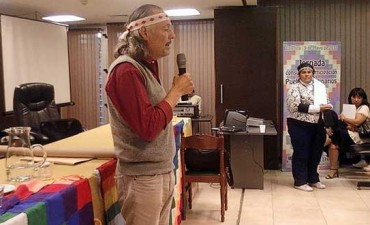 Ceremonia de Sepultura de la Comunidad Mapuche Tehuelche