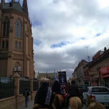 Los peregrinos llegaron a Luján en la mañana de este viernes
