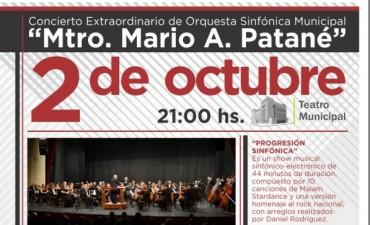La Sinfónica Municipal presenta: Progresión Sinfónica