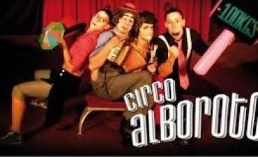 El Circo Alboroto llega a Olavarría
