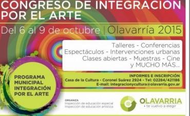 Olavarría será sede del Congreso de Integración por el Arte