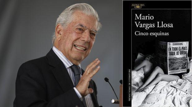 Cinco esquinas, la última novela de Vargas Llosa
