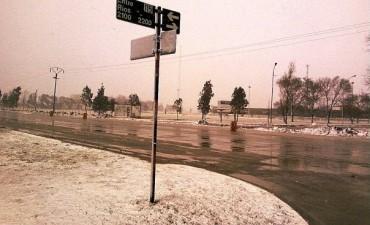 Olavarría: Anuncian nevadas durante este lunes para la zona serrana