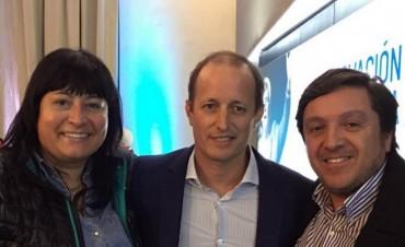 Olavarrienses en el acto de intendentes de la Renovación Peronista por Cafiero