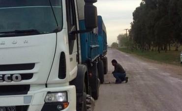 Detectaron camión con casi 30 toneladas de sobrecarga