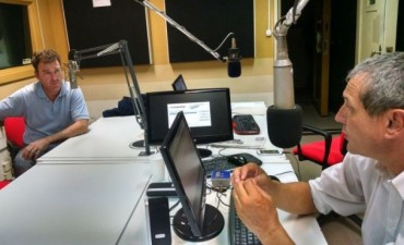 Eduardo Alem, habló de mapeo genomico en Regional Agropecuario