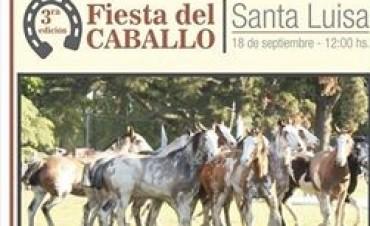 Fiesta del Caballo: se realiza desde el mediodía en Santa Luisa