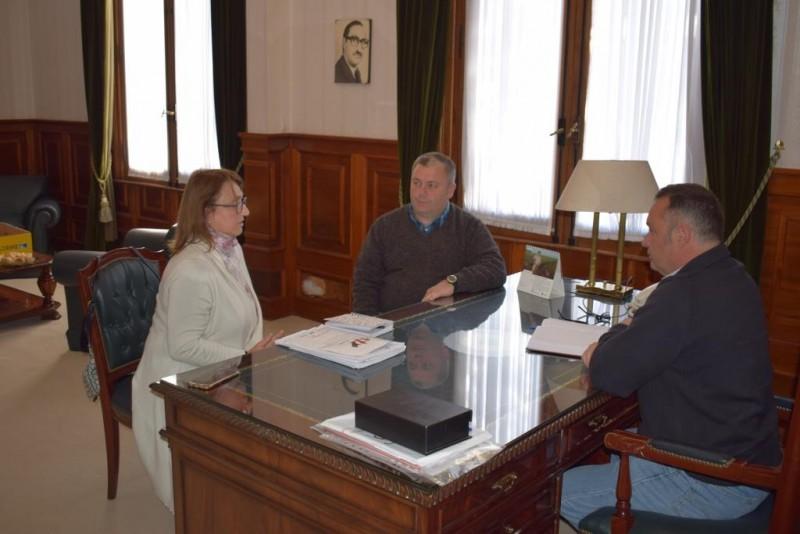 Cellillo se reunió con el Coordinador Regional de Políticas Socioeducativas: Walter Tossoniero