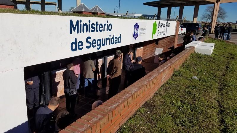 En funciones ya la nueva sede de la dependencia local de Drogas Ilícitas