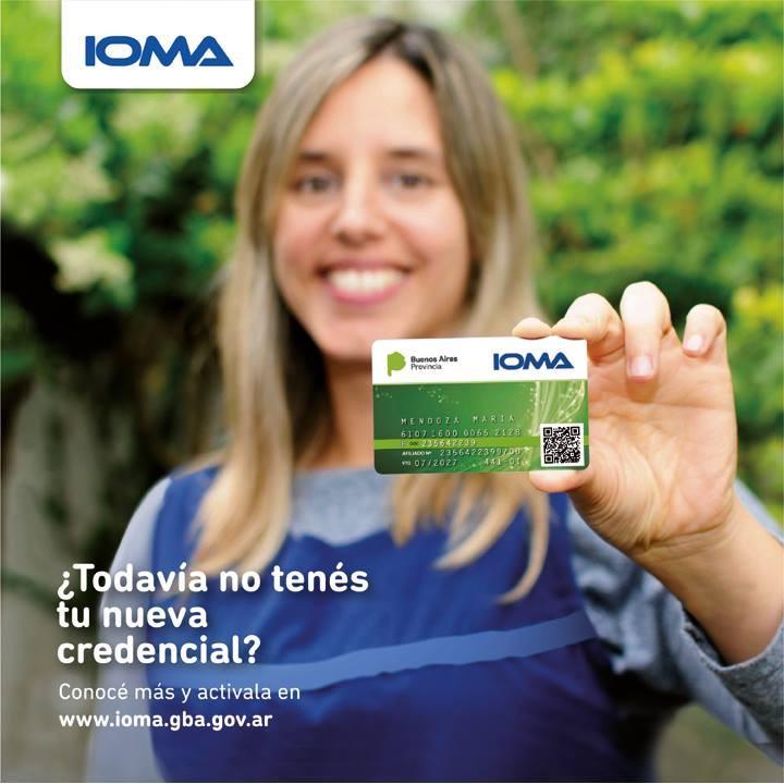 Retiro de credenciales de IOMA