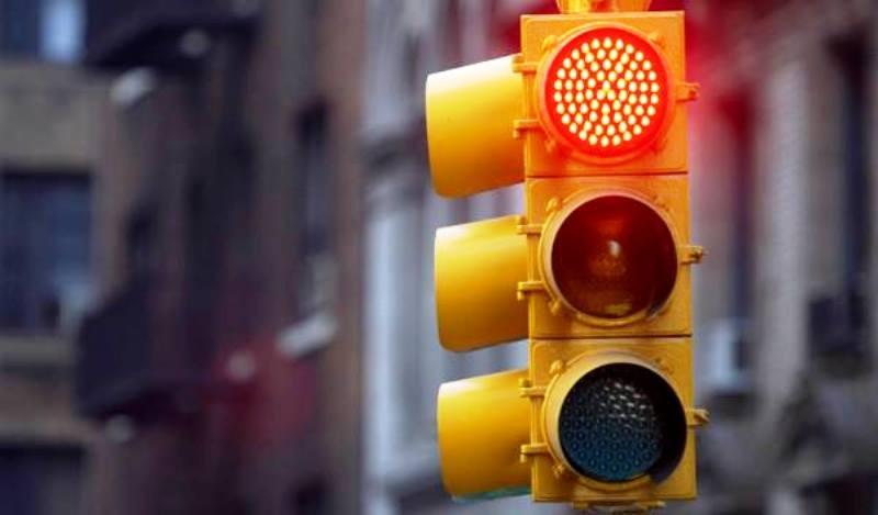 Nuevo semáforo en Sarmiento e Independencia