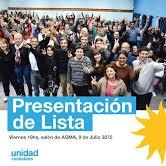 Unidad Ciudadana lanza su lista