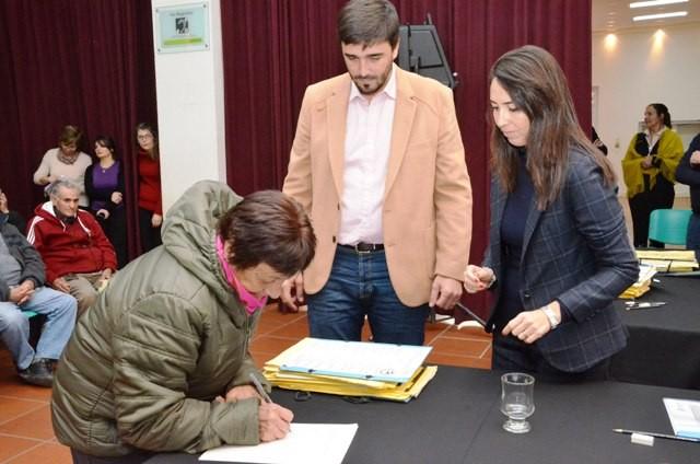 Se realizará un nuevo acto de firma y entrega de escrituras