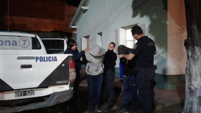 Dos hombres detenidos por robo