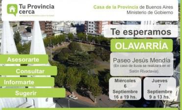 """Tu Provincia cerca"" llega a Olavarría"