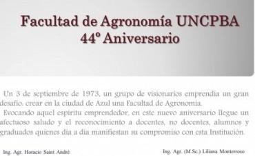 Aniversario de la Facultad de Agronomía de la UNICEN