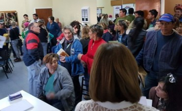 Últimas reuniones de Regularización Dominial