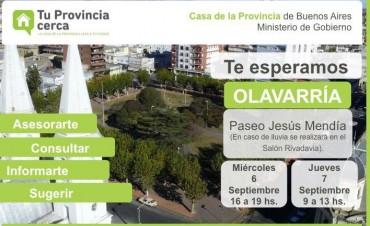 """""""Tu Provincia cerca"""" en Olavarría"""