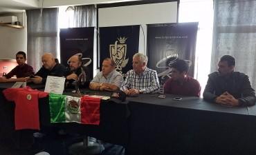 Conferencia de prensa de los Huella por su viaje a México