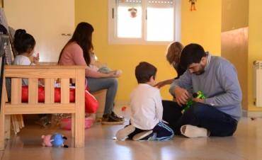 Visitas y juguetes para Peñihuén y Namasté