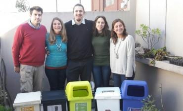 Desarrollo Sustentable: adquisición de cestos para diferenciación de residuos