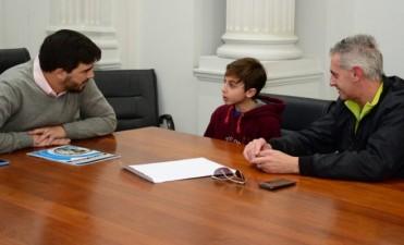 Mateo Conte viajará al Mundial de España