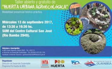 Ambiente: abierta la inscripción al taller de Huerta Urbana Agroecológica