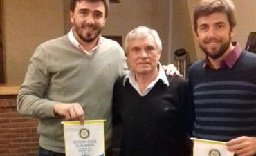 Ezequiel Galli se reunió con autoridades de Rotary Centro