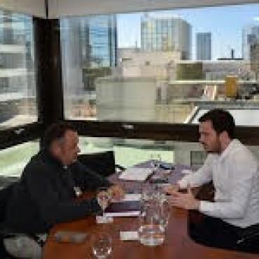 Gral. Alvear: Cellillo se reunió con el Ministro de Salud, Dr. Andrés Scarsi
